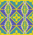 ethnic traditional american style textile vector image vector image