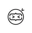 ninja code creative simple logo icon vector image vector image