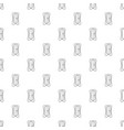 sharpener pattern seamless vector image vector image