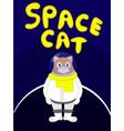 spacecat vector image