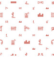 volume icons pattern seamless white background vector image vector image
