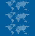 World maps vector | Price: 1 Credit (USD $1)