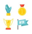 Awards isolated vector image