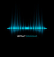 abstract sound wave background vector image vector image
