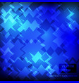 blue dark background pattern design vector image vector image