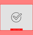 check mark icon symbol design element vector image vector image