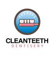 Clean Teeth Design vector image vector image