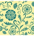 floral ornate seamless pattern vector image vector image