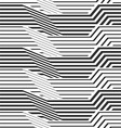 geometric pattern by stripes vector image vector image