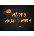Happy Halloween theme vector image vector image