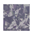 Lavender Purple Abstract Low Polygon Background vector image vector image