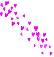 mothers day background with pink glitter confetti vector image vector image