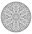 oriental mandala vector image vector image