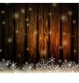 Vintage Christmas wood background