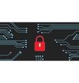 website security vector image vector image
