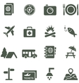 icons for travel and tourism vector image