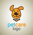 pet care logo 2 vector image