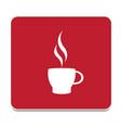 icon tea vector image