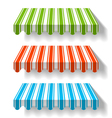 Colored awning vector | Price: 1 Credit (USD $1)