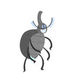 cute cartoon insect character vector image vector image