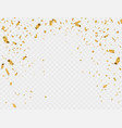 abstract background party celebration gold vector image vector image