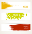 Abstract color banner set vector image vector image