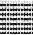 Abstract minimalistic black and white pattern vector image