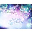 background for Christmas and New Year vector image