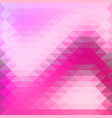background in pink purple triangles overlap vector image vector image