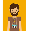 hipster design vector image vector image
