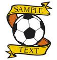 football club symbol vector image