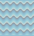 blue abstrct wave 3d seamless background eps 10 vector image vector image