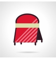 Cafe advert board icon flat style vector image