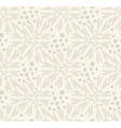 Floral vintage rustic seamless pattern vector image