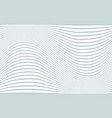 gray and white wavy tilde shaped stripes vector image
