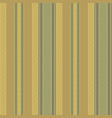 green vintage striped seamless pattern vector image vector image