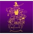 purple backgrounds halloween doodle art