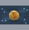technology money digital vector image