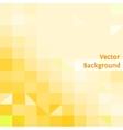 Yellow modern geometric design template vector image vector image