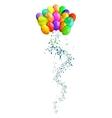 arty balloons vector image