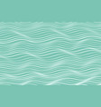 blue and white wavy background vector image
