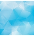 Blue triangle abstract background EPS10 vector image