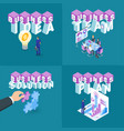 business concepts set 01 vector image