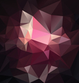 dark pink purple black abstract polygon triangular vector image