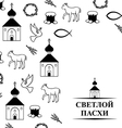 easter orthodox vector image vector image