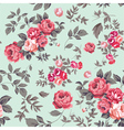 Rose Seamless Pattern Pink Mint