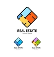 Sign Real Estate Set Plan Floor vector image vector image