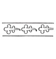 turkish design have heavy border design vintage vector image vector image
