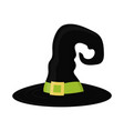 wizard halloween hat vector image