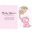 bashower invitation card vector image vector image